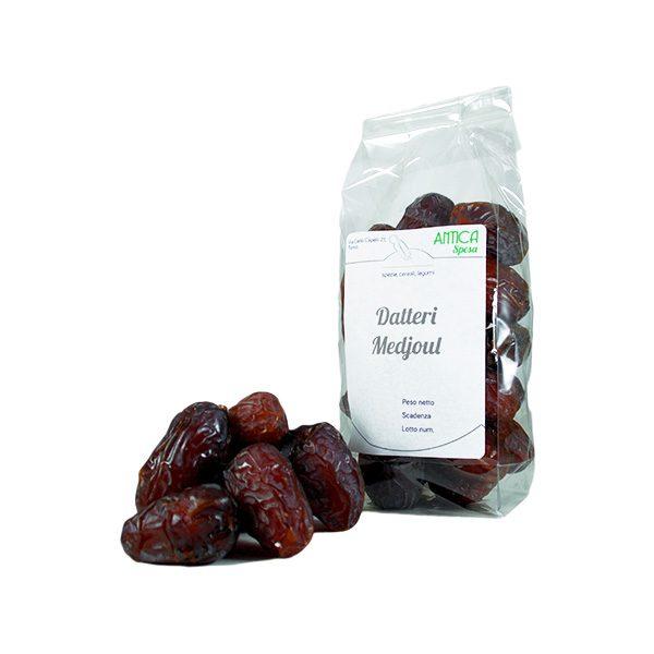 Datteri Medjoul interi senza zucchero aggiunto in confezione variabile da 250 grammi 500 grammi o 1 kg