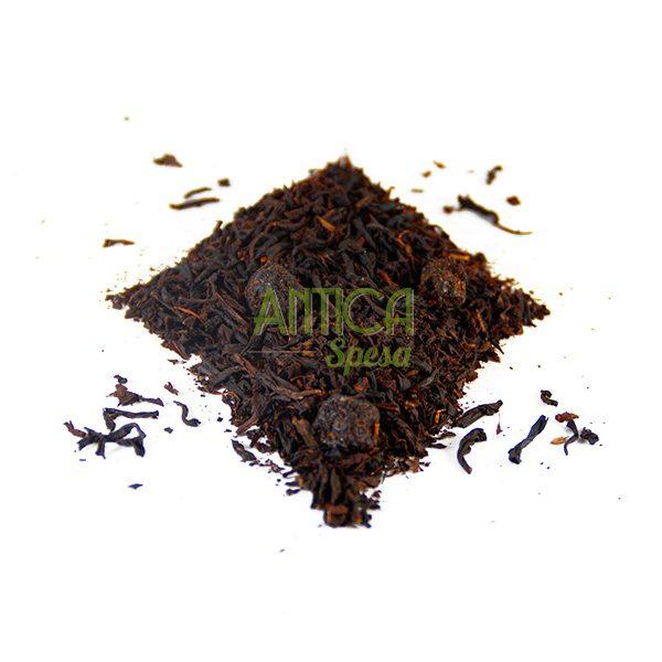 Tè nero aromatizzato al mirtillo