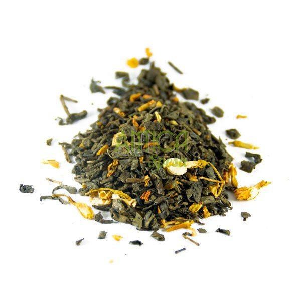 Tea Verde aromatizzato al Gelsomino in vendita online in confezioni da 75 grammi, 150 grammi o 250 grammi