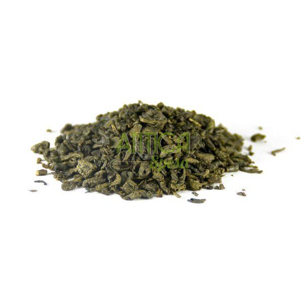 Tea verde gunpowder vendita online in confezioni da 75 grammi, 150 grammi o 250 grammi.