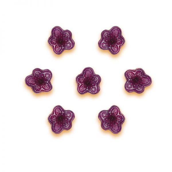 Caramelle dure Pastiglie Leone, gusto violetta in confezione variabile da 150, 250, 500 grammi o 1 kg