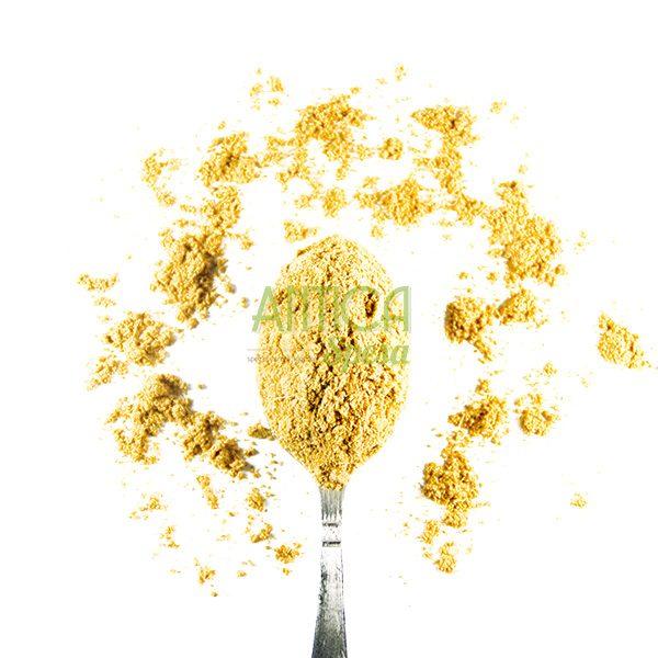 Cumino in polvere in vendita sfusa in confezioni variabili da 50 grammi, 100 grammi o 150 grammi