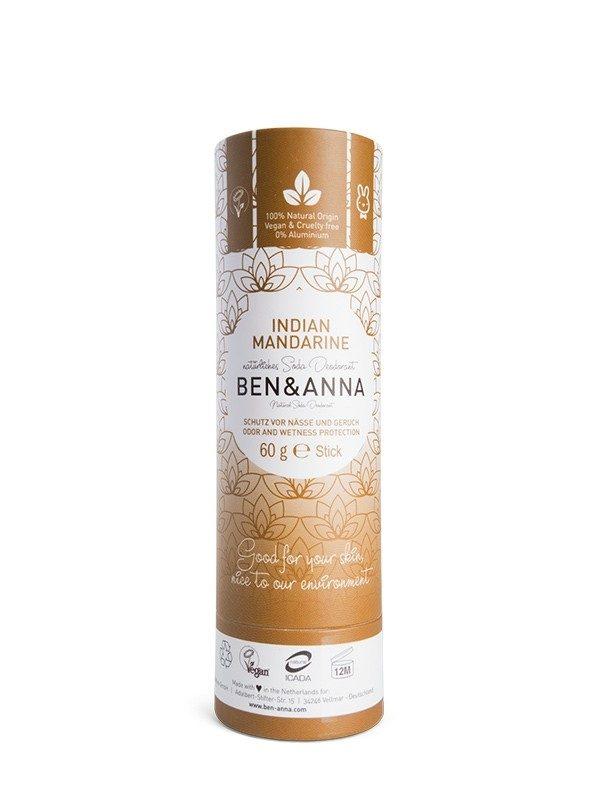 Deodorante Ben & Anna 100% naturale e biodegradabile nella profumazione Indian Mandarine