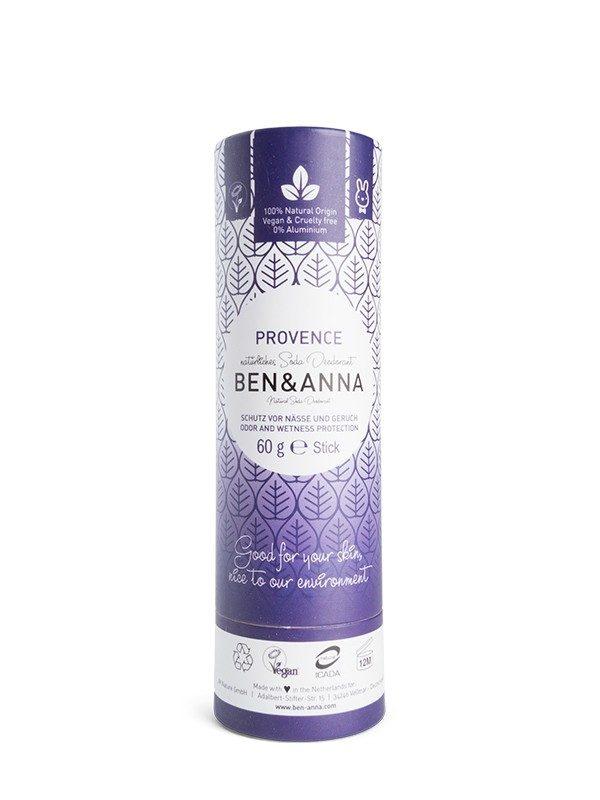 Deodorante Ben & Anna 100% naturale e biodegradabile nella profumazione Provance