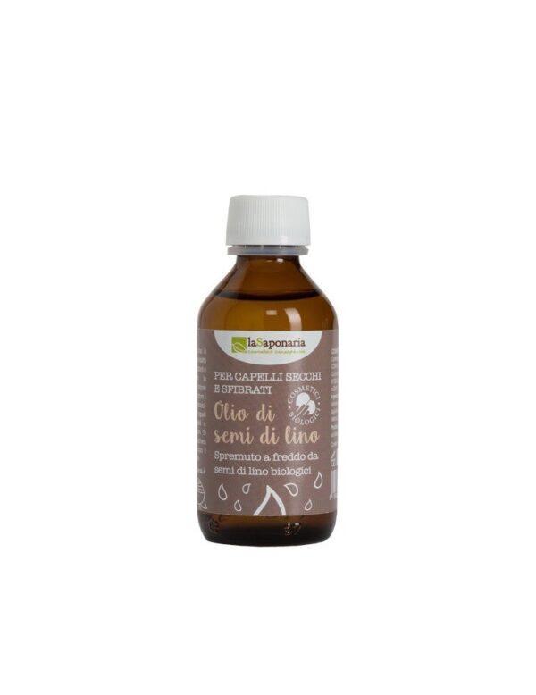 olio di semi di lino biologico vegan 100ml